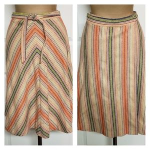 Vintage 1970's Wrap Skirt - Patty Woodard Cal.